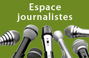 Espace journalistes